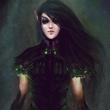 Аватар Девушка-эльф в темном платье
