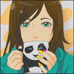 Аватар Девушка с кружкой в руках