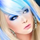 Аватар Девушка с разноцветными волосами