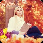 Аватар Девушка с книгой в осеннем парке (Autumn / Осень)
