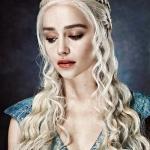 Аватар Эмилия Кларк / Emilia Clarke в роли Дэйнерис Таргариен / Daenerys Targaryen из сериала Игра престолов / Game of Thrones\