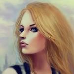 Аватар Девушка русая с голубыми глазами