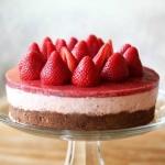 Аватар Бисквитный тортик с клубникой