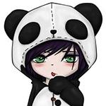 Аватар Аниме Чиби в костюме панды