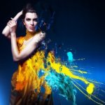 Аватар Девушка в фантастическом платье, фотограф Alex Buts