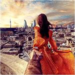 Аватар Модель Наталья Захарова, держит за руку фотографа Мурада Османна, серия фотография Следуй за мной. Азербайджан, Баку