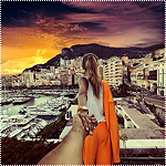 Аватар Модель Наталья Захарова, держит за руку фотографа Мурада Османна, серия фотография Следуй за мной. Монако, Монако-Вилль