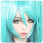 Аватар Косплей Vocaloid Hatsune Miku / Вокалоид Хатсуне Мику