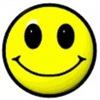 Аватар Улыбающийся смайлик на белом фоне