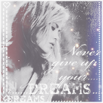 Аватар Красивая девушка - блондинка в профиль (never give up your dreams / никогда не отказывайтесь от своей мечты)