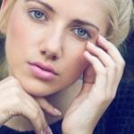 Аватар Портрет голубоглазой девушки, ву DAVID MAS