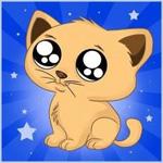 Аватар Котенок с большими грустными глазами