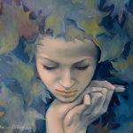 Аватар Девушка в листве, by Dorina Costras