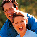 Аватар Мужчина и женщина весело смеются