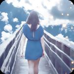 Аватар Девушка идет по мосту уходящему в облака