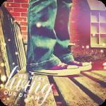 Аватар Ноги человека в кедах, стоящего на деревянной скамейке (We were living our dream / Мы живем мечтой)