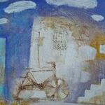 Аватар На стене нарисован велосипед