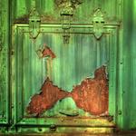 Аватар Ржавый облезлый зеленый крашеный жестяной ящик