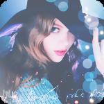 Аватар Красивая девушка поправляет рукой шляпу
