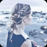 Аватар Красивая девушка на фоне морского берега