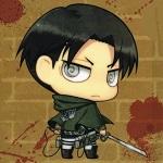 Аватар Levi Ackerman из аниме Shingeki no Kyojin / Вторжение гигантов