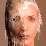 Аватар Лицо девушки в ледяной маске с сосульками, Надя Ауэрман - топ-модель 90-х
