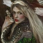 Аватар Девушка со змеей, ву Agnieszka Lorek