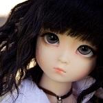 Аватар Кукольное личико с грустными глазами
