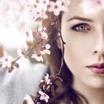 Аватар Девушка с весенними ветками, ву Nina Masic
