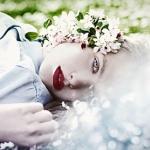 Аватар Девушка с весенними цветами, ву Nina Masic