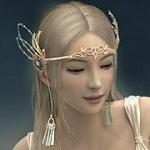 Аватар Эльфийка с диадемой на голове