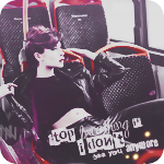 Аватар Девушка сидит в кресле автобуса (Stop breathing if I dont see you anymore / Перестану дышать если потеряю тебя навсегда)