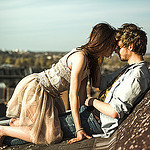 Аватар Парень с девушкой на крыше дома