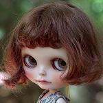 Аватар Кукольное личико с большими грустными глазами