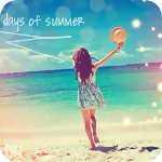 99px.ru аватар Девушка бежит к морю (days of summer / летние дни)