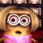Аватар Удивленный миньон в парике из мультфильма Despicable Me / Гадкий я