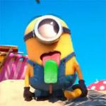 Аватар Миньон с мороженным на языке из мультфильма Despicable Me / Гадкий я