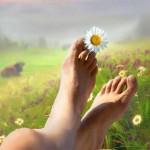 Аватар Ромашка на пальчике ног, фотохудожник Igor Zenin