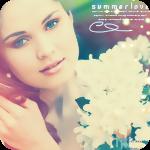 99px.ru аватар Девушка с букетом белых цветов