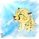 Аватар Леопард с пером в пасти (Zuind Spirit)