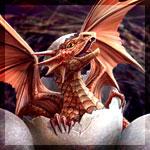 Аватар Дракончик вылупляется из яйца