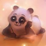 Аватар Медвежонок панда читает книгу, by Apofiss