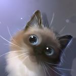Аватар Сиамский котенок, by Apofiss