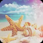 Аватар Ракушки и морские звезды на морском песчанном пляже (Sunnt Days / Солнечные дни)