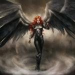 Аватар Девушка в образе падшего ангела