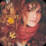 Аватар Красивая девушка среди осенней листвы и бликов (Autumn / Осень)