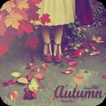 Аватар Ноги девушки и осенние листья (Autumn / Осень)
