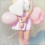 Аватар Девушка с воздушными шариками