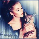 Аватар Красивая девушка с котенком породы мейн-кун на руках