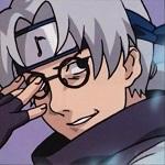 Аватар Kabuto поправляет очки из аниме Naruto / Наруто